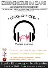 affiche du Croque-notes